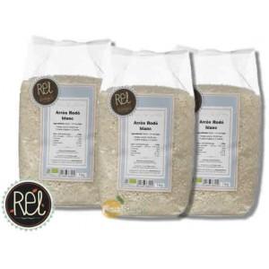 Arròs Llarg Blanc Bio - Rel - 1 Kg. - Pack Estalvi 3 unitats